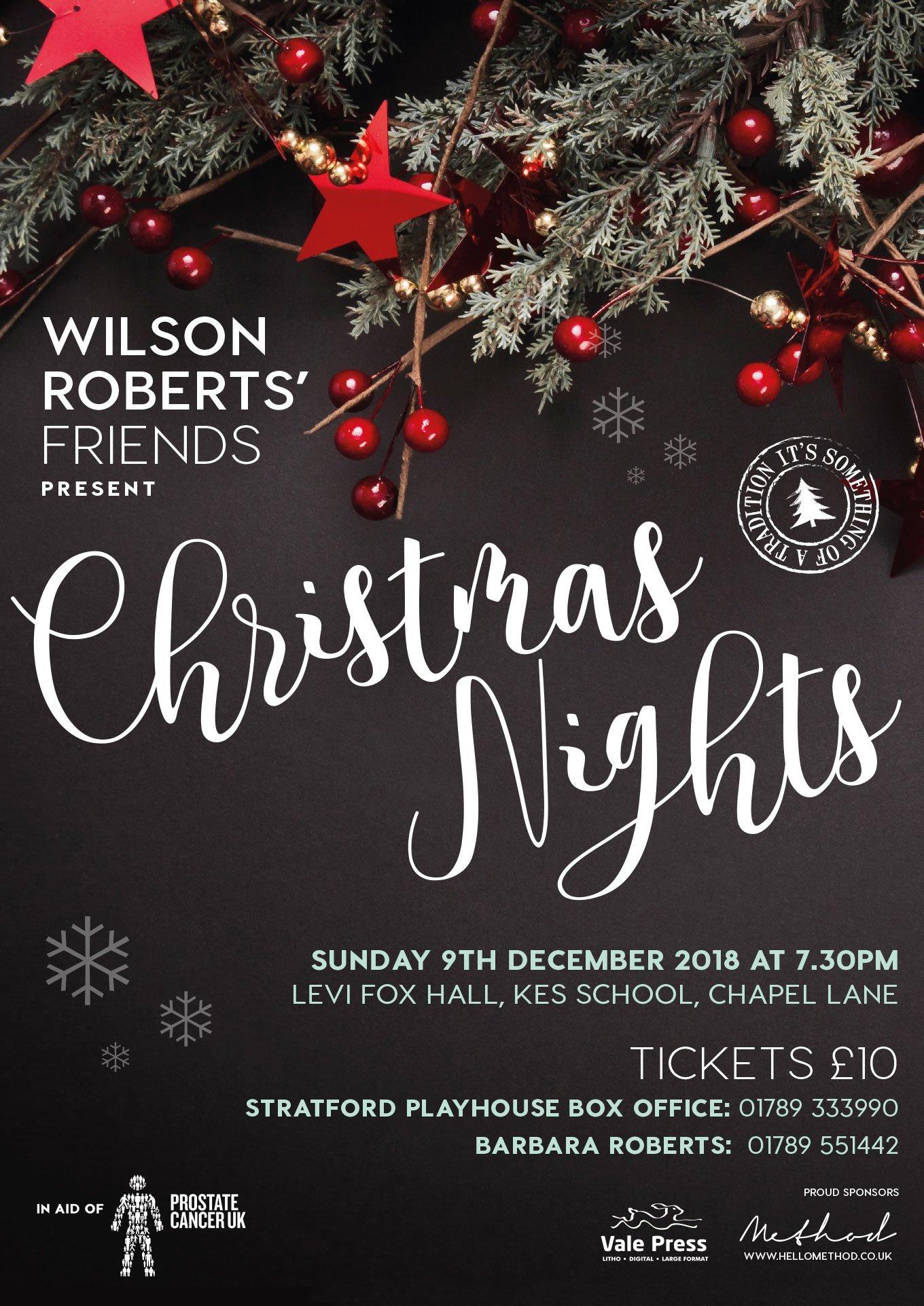 Wilson Roberts' Friends Present Christmas Nights