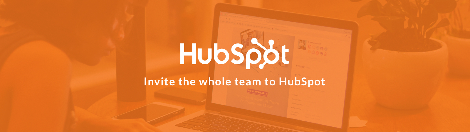 Invite the whole team to HubSpot